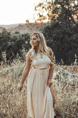 New Beginnings Maxi Dress - Natural