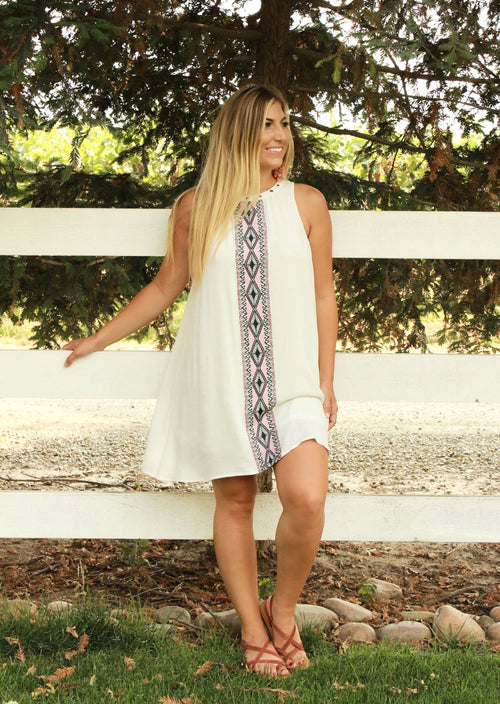 Morning Light Dress - White