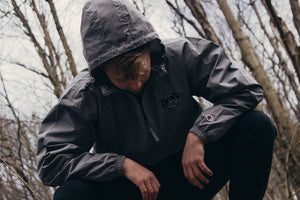 Mountain Crew X  Champion Jacket (Black Logo)