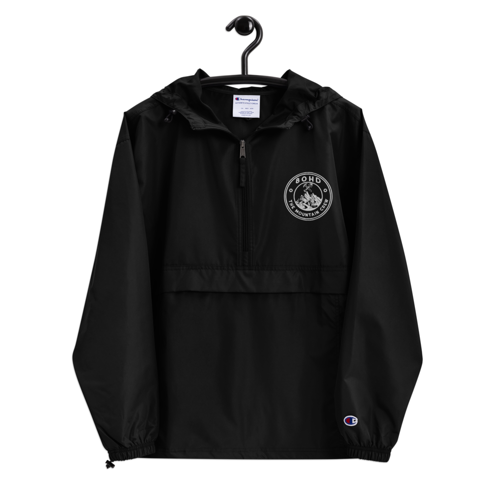 Mountain Crew X Champion Jacket (White Logo)
