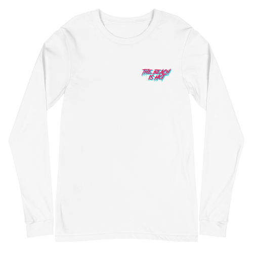 The Beach is Hot Long Sleeve T
