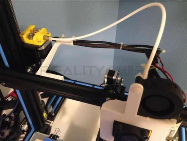 image relating to Ender 3 Printable Upgrades titled 30 Progress in direction of Creality Ender-3 Creality 3D
