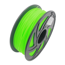 Glow PLA 3D Printer Filament, 1.75mm, 1kg Spool, Luminous Green