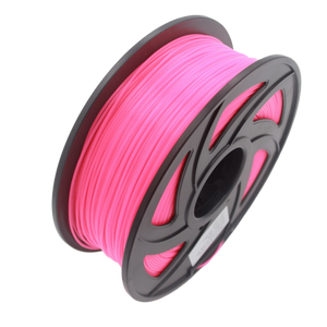 Glow PLA 3D Printer Filament, 1.75mm, 1kg Spool, Luminous Red