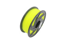 Glow PLA 3D Printer Filament, 1.75mm, 1kg Spool, Luminous Yellow