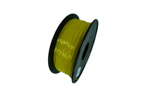 1.75 mm. Yellow PLA 3D Printer Filament 1 kg Spool