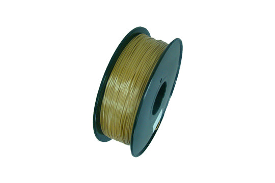 PLA 3D Printer Filament, 1.75mm, 1kg Spool, Silk Gold