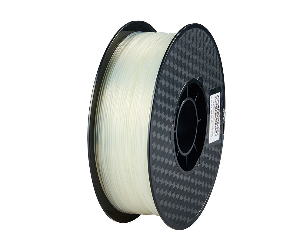 3D Printer Transparent PLA Filament 1.75mm Accuracy +/- 0.05 mm 1kg