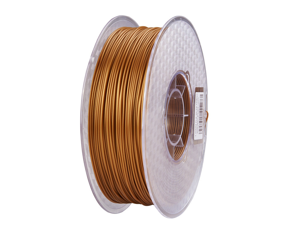 Creality3D PLA 3D Printer Filament, 1.75mm, 1kg Spool, Gold