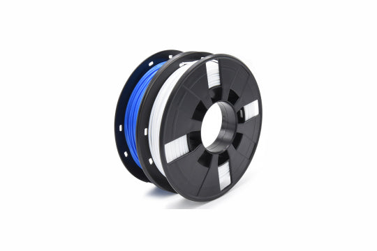 Creality3D PLA 3D Printer Filament, 1.75mm, 200g x 2 Pack - Black, Silver, Transparent, White, Blue