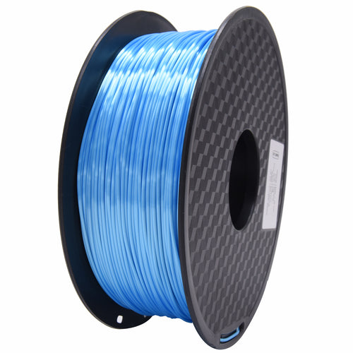 3D Printer Sky Blue Color PLA Filament 1.75mm Accuracy +/- 0.05 mm 1kg