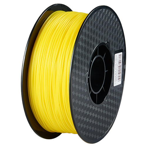 3D Printer Yellow Color PLA Filament 1.75mm Accuracy +/- 0.05 mm 1kg
