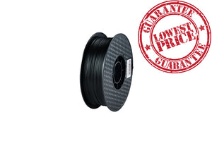 PLA 3D Printer Filament, 1.75mm, 1kg Spool, Black