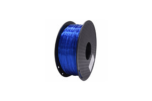 PLA 3D Printer Filament, 1.75mm, 1kg Spool, Silk Dark Blue