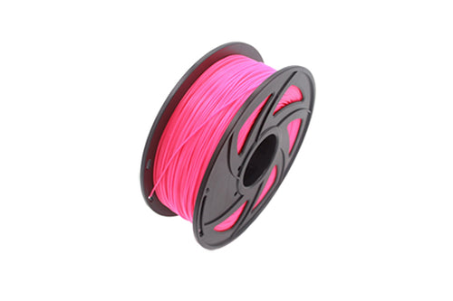 PLA 3D Printer Filament, 1.75mm, 1kg Spool, Fluorescent Pink