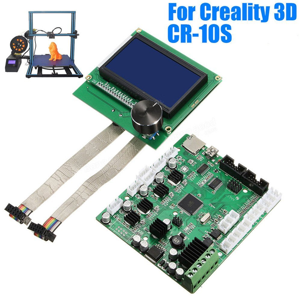 Upgrade Cr 10s Replacement Control Mainboard Lcd Display Screen To Make A Printed Circuit Board Using Diode Laser With 3d Printer 2018 Parts Motherboard Add Cart