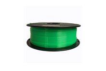 PLA 3D Printer Filament, 1.75mm, 1kg Spool, Transparent Green