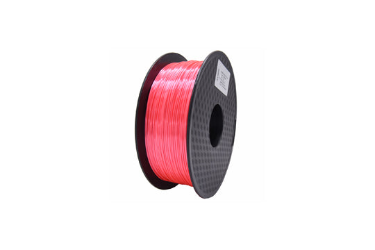 PLA 3D Printer Filament, 1.75mm, 1kg Spool, Silk Pink