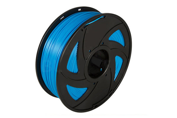 3D Printer Luminous Blue Color Noctiucent PLA Filament 1.75mm Accuracy +/- 0.05 mm 1kg