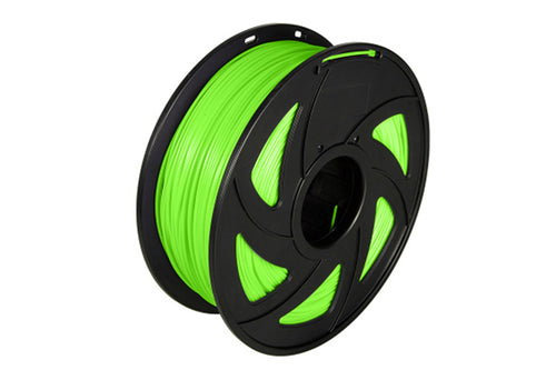 3D Printer Luminous Green Color Noctiucent PLA Filament 1.75mm Accuracy +/- 0.05 mm 1kg