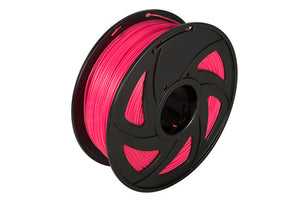 3D Printer Luminous Red Color Noctiucent PLA Filament 1.75mm Accuracy +/- 0.05 mm 1kg