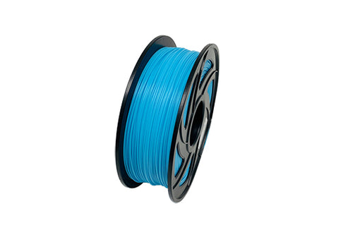 PLA 3D Printer Filament, 1.75mm, 1kg Spool, Sky Blue