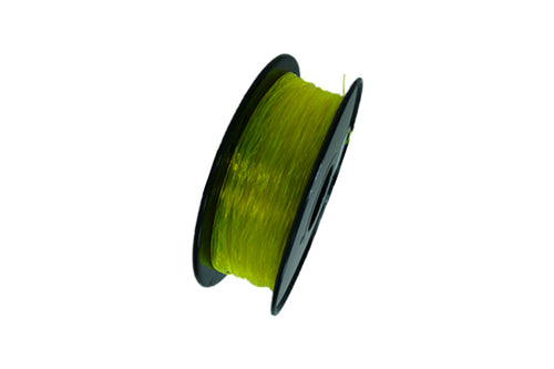 Flexible TPU 3D Printer Filament, 1.75mm, 0.8kg Spool, Transparent Yellow
