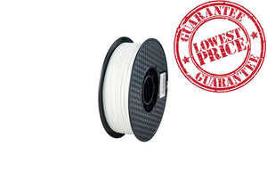 PLA 3D Printer Filament, 1.75mm, 1kg Spool, White
