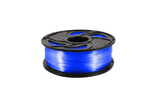 Creality3D PLA 3D Printer Filament, 1.75mm, 1kg Spool, Transparent Blue