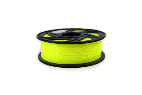 Creality3D PLA 3D Printer Filament, 1.75mm, 1kg Spool, Transparent Yellow