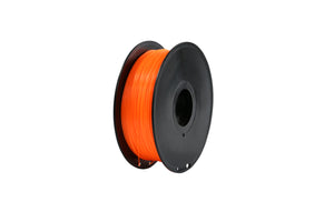 3D Printer Fluorescent Orange Color PLA Filament 1.75mm Accuracy +/- 0.05 mm 1kg