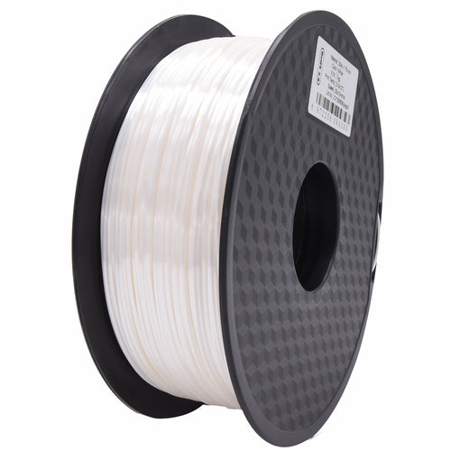 3D Printer White Color PLA Filament 1.75mm Accuracy +/- 0.05 mm 1kg