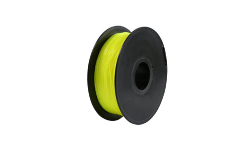 3D Printer Fluorescent Yellow Color PLA Filament 1.75mm Accuracy +/- 0.05 mm 1kg