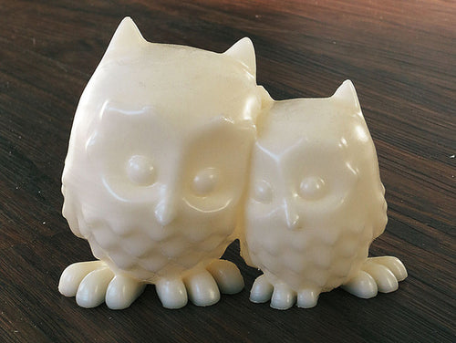Cuddling Owls Free Model Download