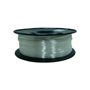 PLA 3D Printer Filament, 1.75mm, 1kg Spool, Silk White