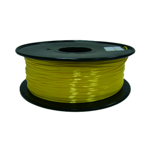 PLA 3D Printer Filament, 1.75mm, 1kg Spool, Silk Yellow