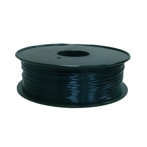 PLA 3D Printer Filament, 1.75mm, 1kg Spool, Silk Black