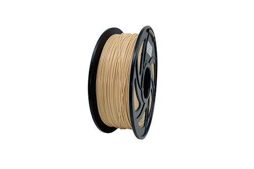 PLA 3D Printer Filament, 1.75mm, 1kg Spool, Wooden Color