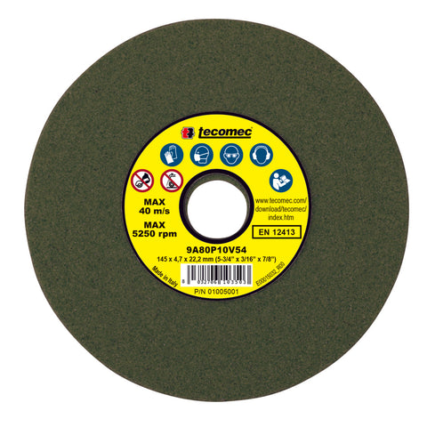 "Tecomec OEM Grinding Wheel VITRIFIED 3/16"" Chainsaw Chain Sharpening OR534-316"