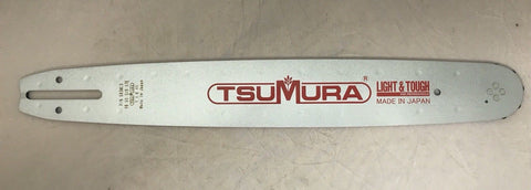 "16"" TsuMura Guide Bar repl. Echo Poulan Efco160SDEA041 3/8LP-050-57DL Wildthing"