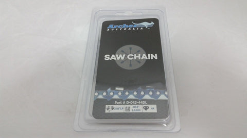 "12"" Chainsaw Chain 3/8LP-043-44DL replaces ECHO PPF-225 POLE PRUNER 90PX44CQ R44"