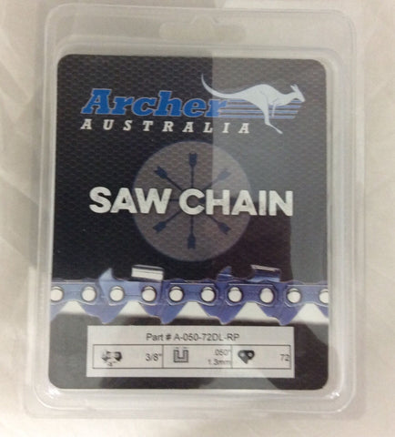 "20"" 3/8-050-72DL Archer Ripping Chainsaw Chain replaces 72RD072G A1EP-RP-72E"