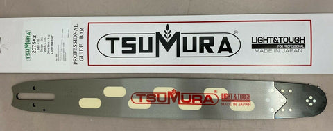 "18"" TsuMura Light-Weight Guide Bar .325-063-74DL Stihl 026 MS270 MS280 MS290"