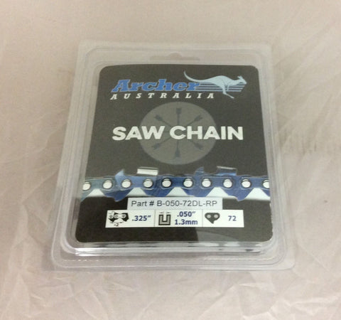 "18"" .325-050-72DL Ripping Chainsaw Chain replaces Husqvarna Jonsered K1CRP-72E"