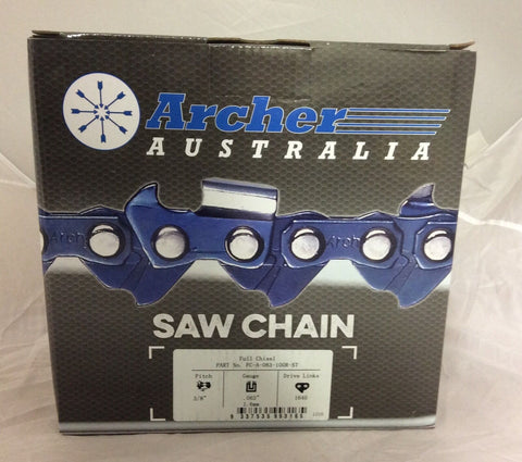 100ft Roll 3/8 .063 Chisel SKIP TOOTH Chain Saw repl. 75JGX100U A3LM-SK-100U