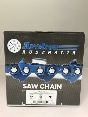 "100ft Roll 3/8"" .050 Semi-Chisel SKIP-TOOTH Chain saw Chain replaces 72DGX100U"