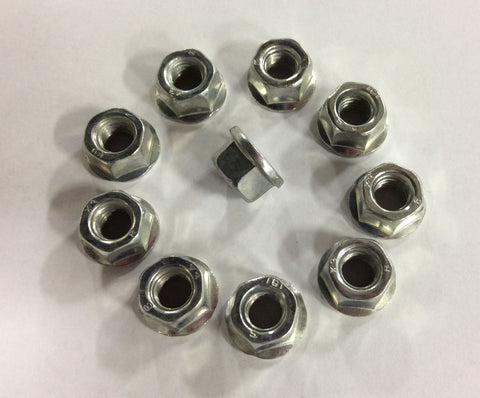10 Pkg NEW Guide Bar Nuts 13mm replaces Husqvarna Jonsered Redmax Echo 503220001