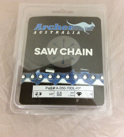 "20"" Chainsaw Ripping Saw Chain Echo CS-590 Homelite XL 3/8"" pitch .050 72RD070G"