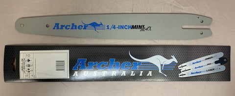 "14"" Archer Guide Bar 1/4""-043-72DL replaces 3005 008 3409 MSA160C-BQ MSA200C-BQ"
