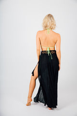 Side Lace Sarong Cover Up